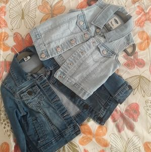 2 Denim jacket/vest